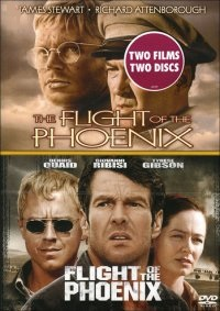 Flight of the Phoenix 1965 +  Flight of the Phoenix 2004 (beg dv