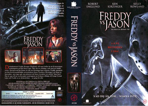 FREDDY VS JASON (VHS)