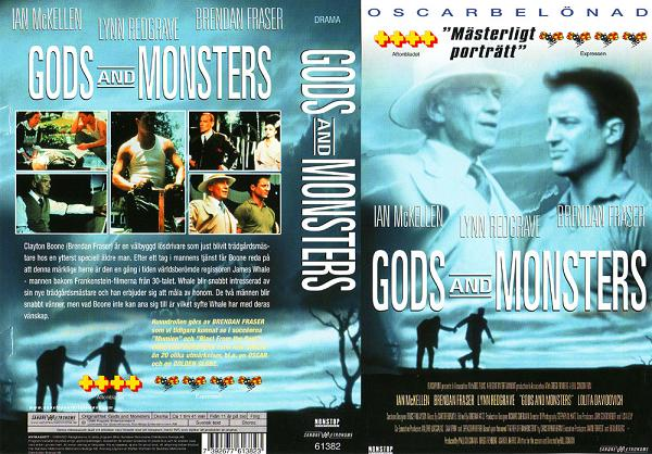 GODS AND MONSTERS (vhs)