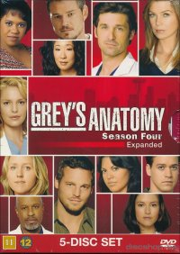 Grey's Anatomy - Säsong 4 (BEG DVD)