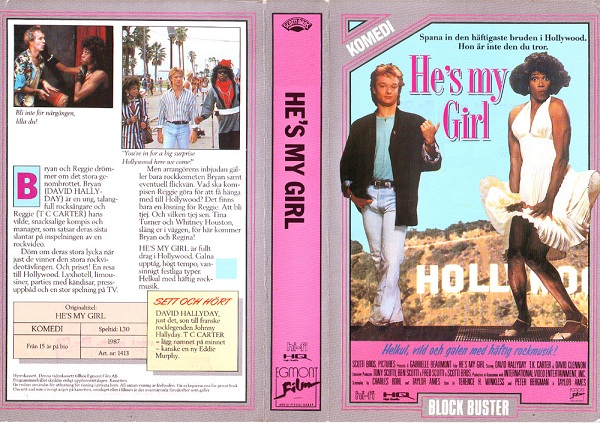 01413 HE'S MY GIRL (vhs)
