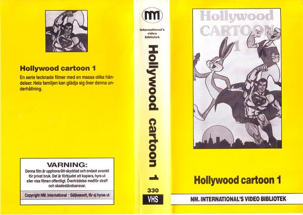 330 HOLLYWOOD CARTOON 1  (VHS)