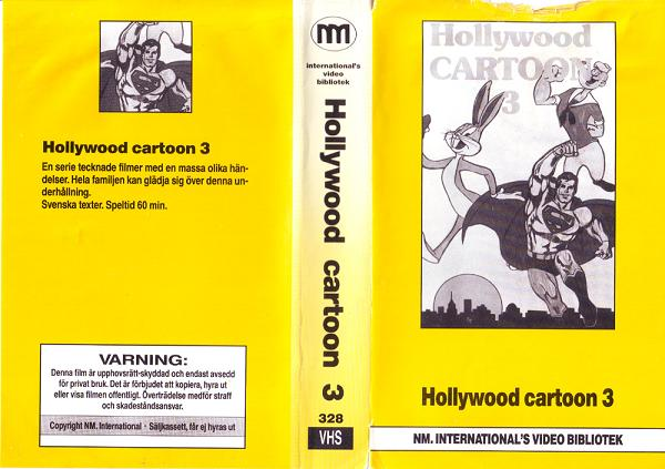 328 HOLLYWOOD CARTOON 3  (VHS)