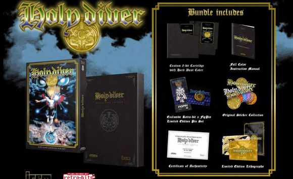 Holy Diver Limited Collectors Edition (Retro-bit) [NES]