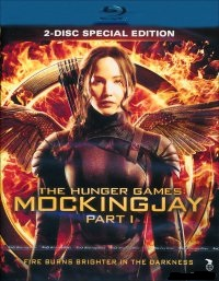 Hunger Games - Mockingjay Part 1 (Blu-ray) 2 disc - beg