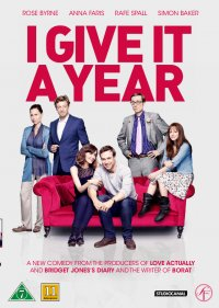 I Give It a Year (beg hyr blu-ray)