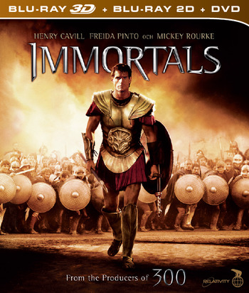 Immortals (beg Blu-ray 3D + DVD)