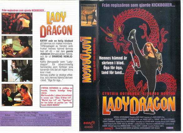 LADY DRAGON (VHS)