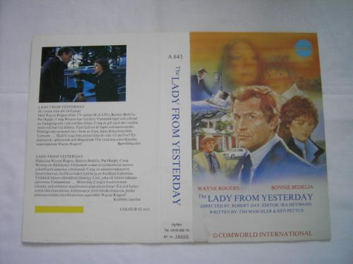 A845 LADY FROM YESTERDAY (vhs)