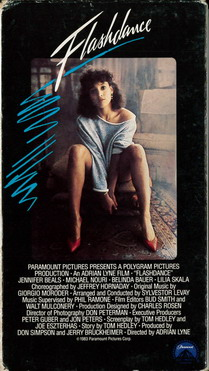 FLASHDANCE (VHS) USA
