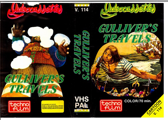 V.114 GULLIVER´S TRAVELS (VHS)