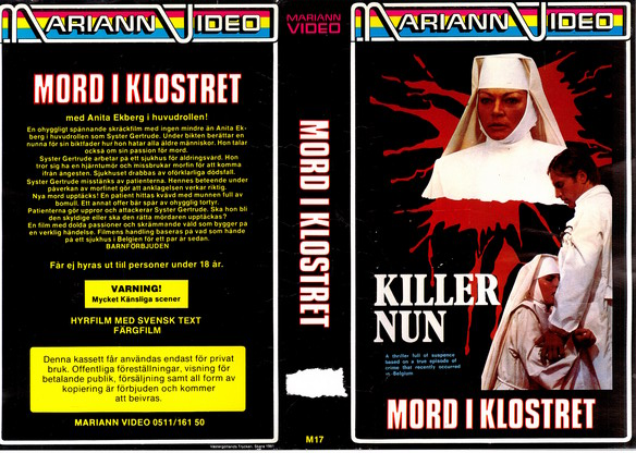 M17 MORD I KLOSTER (VHS)