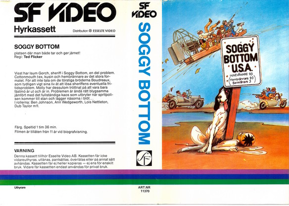 SOGGY BOTTOM (vhs)
