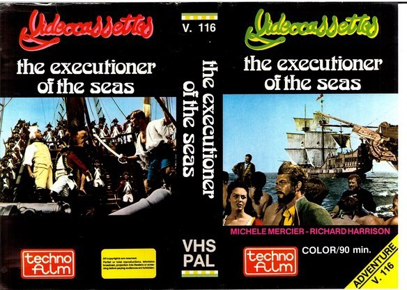V.116 THE EXECUTIONER OF THE SEAS (VHS)