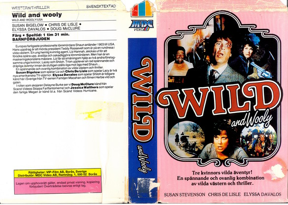 WILD AND WOLLY (VHS)