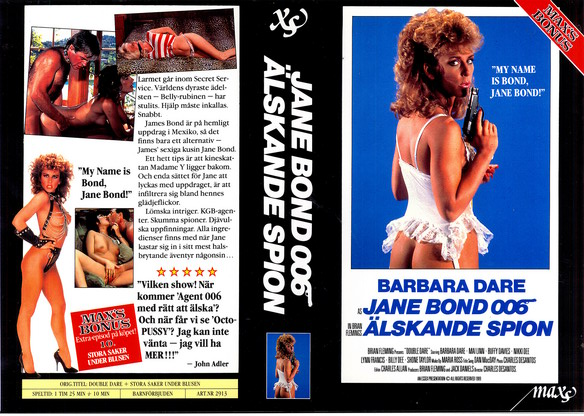 2913 JANE BOND 006 ÄLSKADE SPION (vhs)