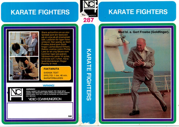 287 KARATE FIGHTERS (VHS)