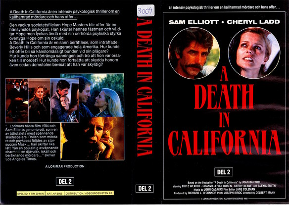 5065 A DEATH IN CALIFORNIA DEL 2 (VHS)