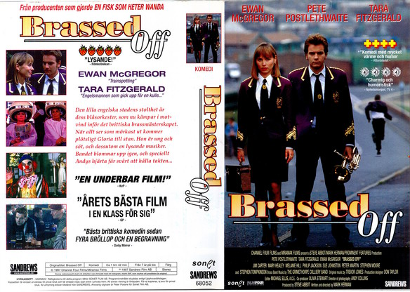 BRASSED OFF (VHS)