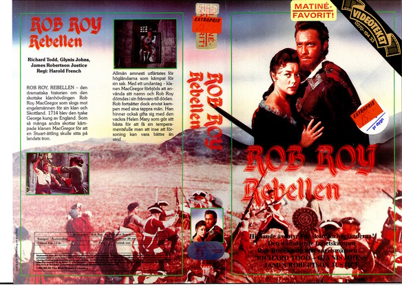 301/73 ROB ROY - REBELLEN (VHS)