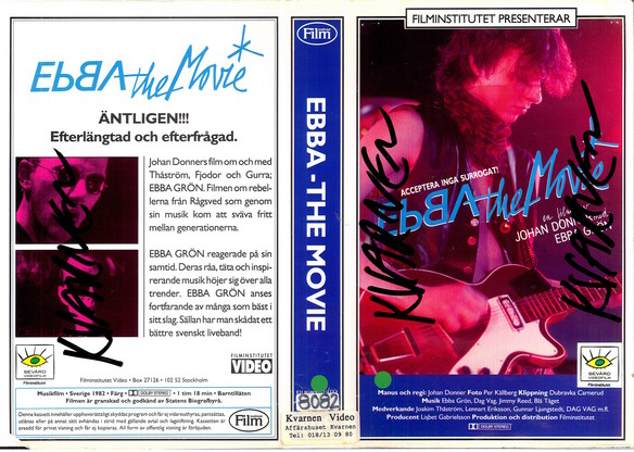 EBBA THE MOVIE (VHS)