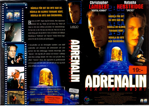 ADRENALIN (VHS)
