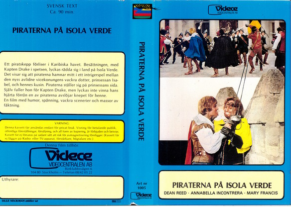 1005 Piraterna På Isola Verde (VHS)