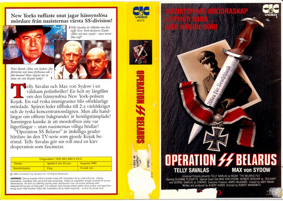 Operation SS Belarus (VHS)