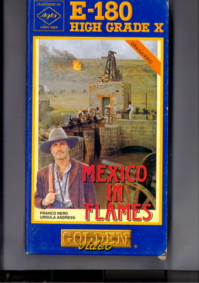 MEXICO IN FLAMES (vhs) pappask