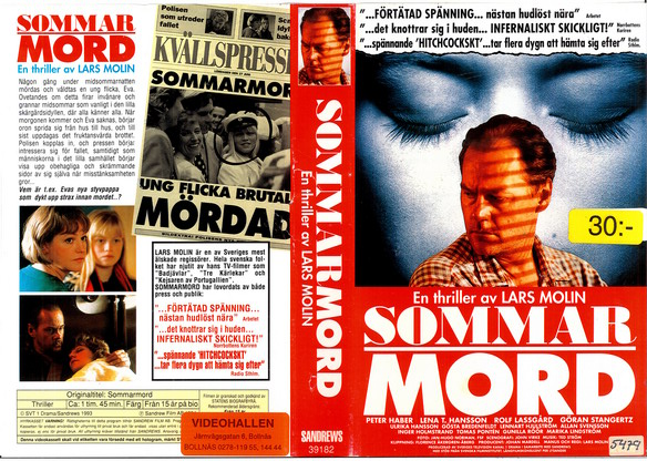 SOMMARMORD (VHS)