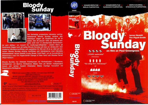BLOODY SUNDAY (VHS)