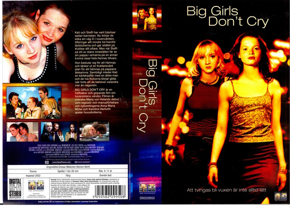 BIG GIRLS DON'T CRY (VHS)