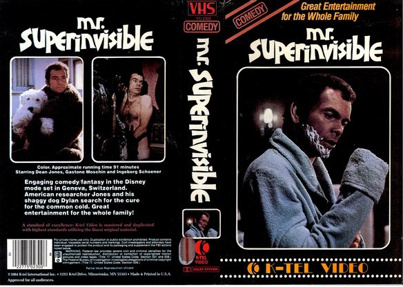 MR.SUPERINVISIBLE (VHS) (USA-IMPORT)