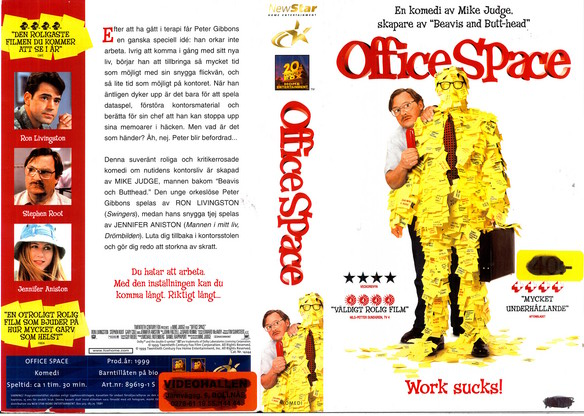 OFFICE SPACE (VHS)