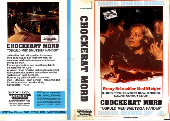 CHOCKERAT MORD (vhs)