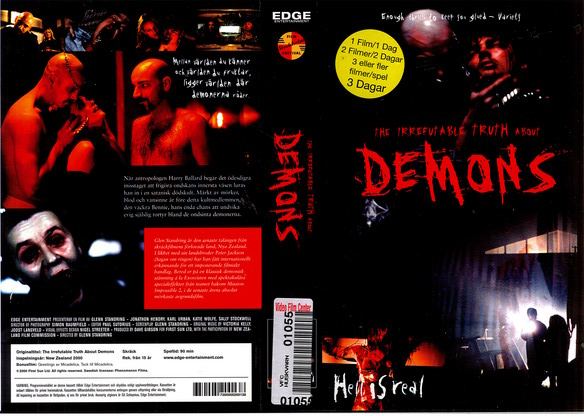IRREFUTABLE TRUTH ABOUT DEMONS (VHS)