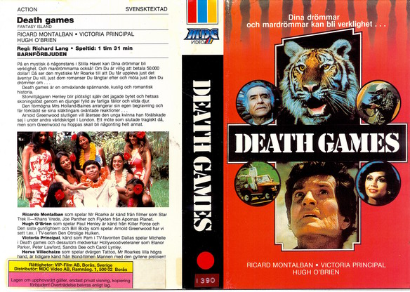 DEATH GAMES  (VHS)
