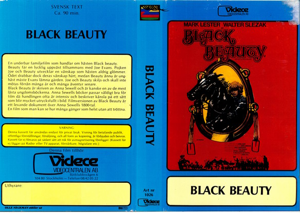 1026 Black Beauty (VHS)