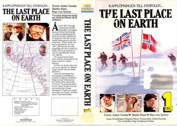 LAST PLACE ON EARTH DEL 1 (VHS)