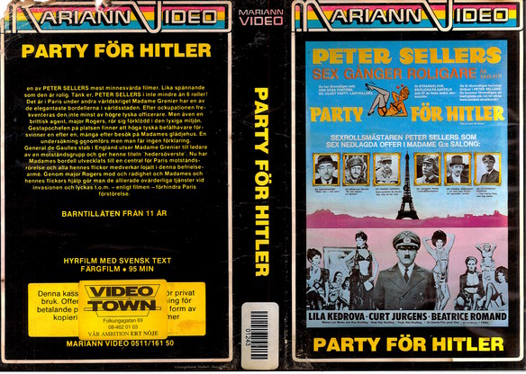 M40 PARTY FÖR HITLER (VHS) svart