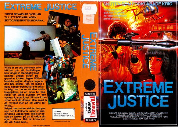EXTREME JUSTICE (VHS)