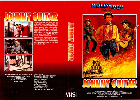 JOHNNY GUITAR (VHS)