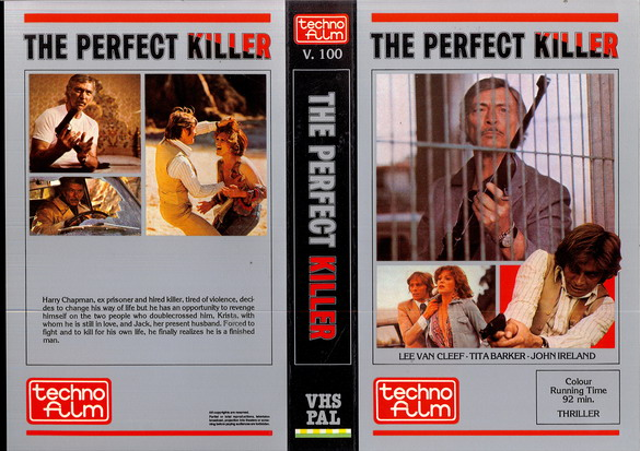 V.100 THE PERFECT KILLER (VHS)