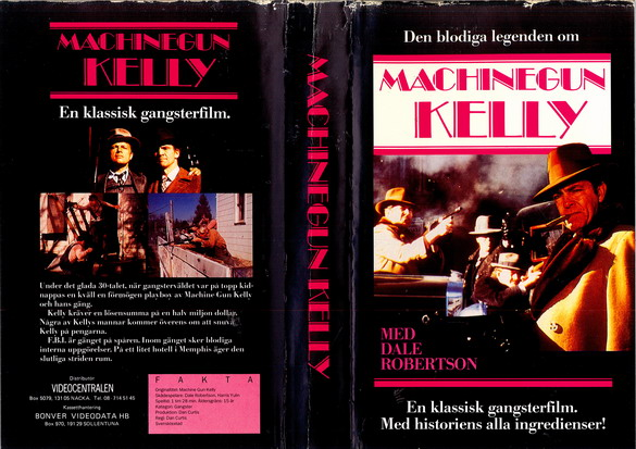 MACHINEGUN KELLY (VHS)
