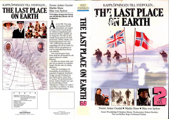 LAST PLACE ON EARTH DEL 2 (VHS)