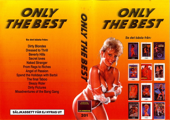 201 ONLY THE BEST  (VHS)