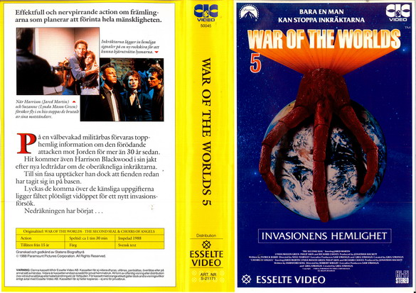 WAR OF THE WORLDS 5 (VHS)
