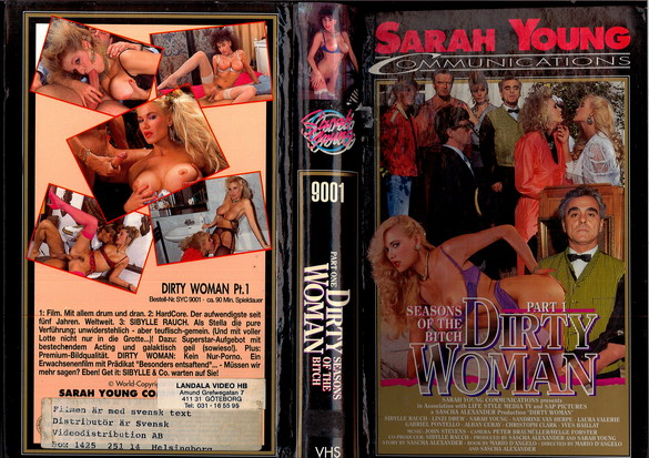 9001 DIRTY WOMAN PART 1 (vhs)