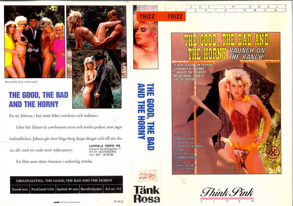 112 THE GOOD,THE BAD AND THE HORNY (VHS)