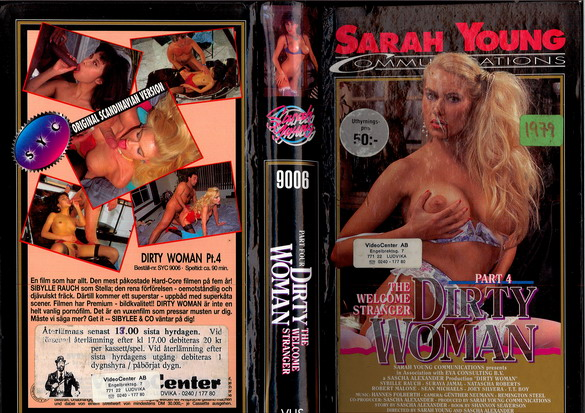 9006 DIRTY WOMAN PART 4 (vhs)